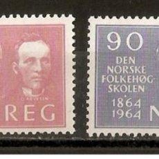 Sellos: NORUEGA. 1964. YV. 478/479. Lote 140317578