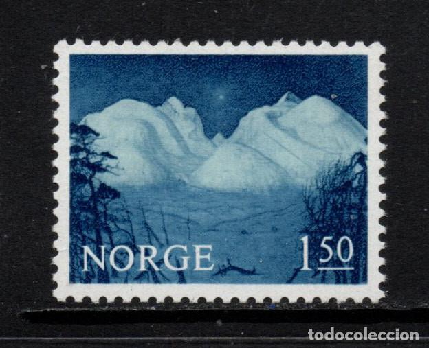 NORUEGA 490** - AÑO 1965 - PAISAJES (Sellos - Extranjero - Europa - Noruega)
