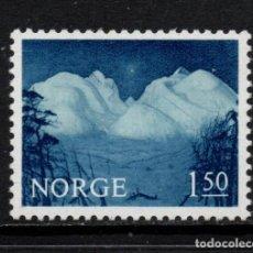 Sellos: NORUEGA 490** - AÑO 1965 - PAISAJES. Lote 142063742