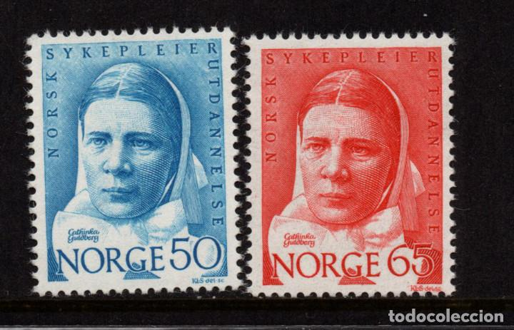 NORUEGA 530/31** - AÑO 1968 - CENTENARIO DE LA CASA DE DIACONESSES (Sellos - Extranjero - Europa - Noruega)