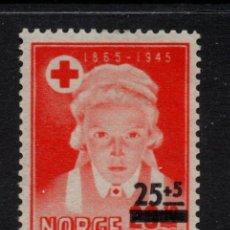 Sellos: NORUEGA 308** - AÑO 1948 - CRUZ ROJA NORUEGA. Lote 142570638