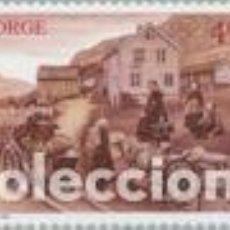 Sellos: SELLO USADO DE NORUEGA, YT 1270. Lote 143156174