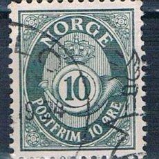 Sellos: NORUEGA SELLO USADO 1921 Y 93 . Lote 146180658