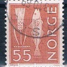 Sellos: NORUEGA 1963 Y 444 SELLO USADO. Lote 146447390