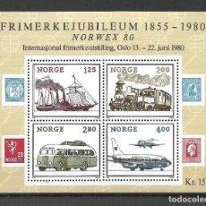 Sellos: NORUEGA 1980 ** MNH - NORWEX '80 STAMP EXHIBITION, OSLO - 189. Lote 149622102