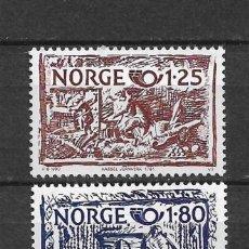 Sellos: NORUEGA 1980 ** NUEVO SC 766/767 1.60 - 2/40. Lote 153469046