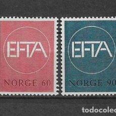 Sellos: NORUEGA 1967 ** NUEVO SC 500/501 2.80 - 2/40. Lote 153469262