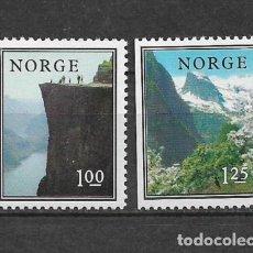 Sellos: NORUEGA 1976 ** NUEVO SC 677/678 1.40 NATURALEZA - 2/40. Lote 153469702