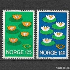 Sellos: NORUEGA 1977 ** NUEVO SC 688/689 1.50 - 2/40. Lote 153471558
