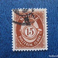 Sellos: NORUEGA, 1962 YVERT 437. Lote 155598766