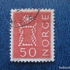 Sellos: NORUEGA, 1962 YVERT 443. Lote 155599178