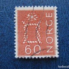 Sellos: NORUEGA, 1962 YVERT 445A. Lote 155599430