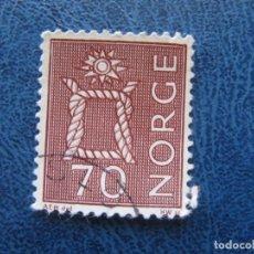 Sellos: NORUEGA, 1968 YVERT 524A. Lote 155601038
