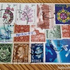 Sellos: NORUEGA LOTE DE SELLOS NORWAY. Lote 155778262
