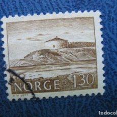 Sellos: NORUEGA, 1977 SELLO USADO. Lote 167608616