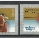 Sellos: NORWAY 2014 - SOCHI 2014 OLYMPIC WINTER GAMES STAMP SET MNH. Lote 168230740