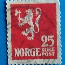 Sellos: SELLO NORUEGA NORGE 25 ORE. Lote 168314113