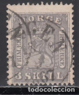 NORUEGA, 1863 YVERT Nº 7 (Sellos - Extranjero - Europa - Noruega)