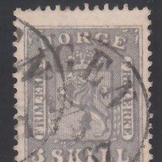 Sellos: NORUEGA, 1863 YVERT Nº 7. Lote 172727375