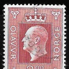 Sellos: NORUEGA 1969-1970. REY OLAV V. USADO YT 547. Lote 173527385