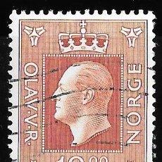 Sellos: NORUEGA 1969-1970. REY OLAV V. USADO YT 549. Lote 173527447