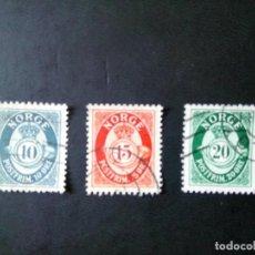 Sellos: NORUEGA 1952, CORNETA POSTAL . Lote 176584809
