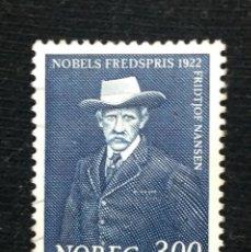 Sellos: NORUEGA, 3,00, NOBELS FREDSPRIS, AÑO 1922, SIN USAR.. Lote 181786098