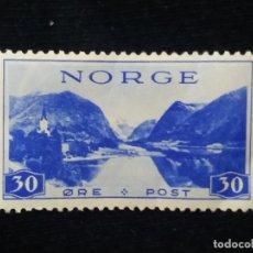 Sellos: NORUEGA, 30 ORE, CONMEMORATIVOS, AÑO 1938, SIN USAR.. Lote 182027931