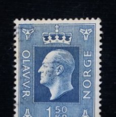 Sellos: NORUEGA, 1,50 KR, REY OLAV V, AÑO 1969, SIN USAR. Lote 182032928