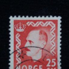 Sellos: NORUEGA, 25 ORE, REY HAAKON, AÑO 1951, SIN USAR. Lote 182033462