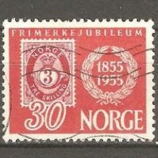 Sellos: NORUEGA, 1955,CAT.YT. 355 A 357, USADOS,SIN GOMA, FIJASELLOS.. Lote 186372933