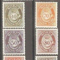 Sellos: NORUEGA,1978, NUEVOS,GOMA ORIGINAL, SIN FIJASELLOS, CAT.YT.714/719.1 VALOR DOBLADO.. Lote 186718772