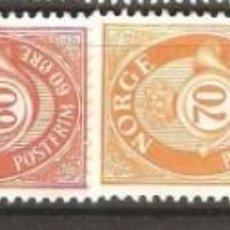 Sellos: NORUEGA,1978,NUEVOS,GOMA ORIGINAL,SIN FIJASELLOS,CAT.YT.714/719.. Lote 186721728