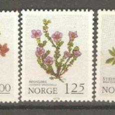 Sellos: NORUEGA,1978,1973,1980,NUEVOS,GOMA ORIGINAL,SIN FIJASELLOS,CAT.YT.755/757-782-629.. Lote 186723411