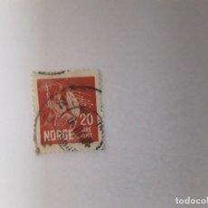 Sellos: NORUEGA SELLO USADO. Lote 187416857