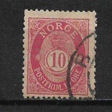 Sellos: NORUEGA 1877 SCOTT # 25 - 2/16. Lote 194958721