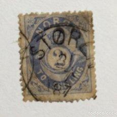 Sellos: NORUEGA 1872 - 1875 2 SK. Lote 194964025