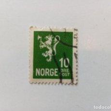 Sellos: 1926 LEÓN. SIN LÍNEA ENTRE ØRE Y POST. Lote 195624937