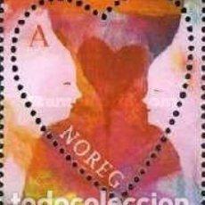 Sellos: NORUEGA 2007 - SAN VALENTIN - YVERT Nº 1541 **. Lote 198355803
