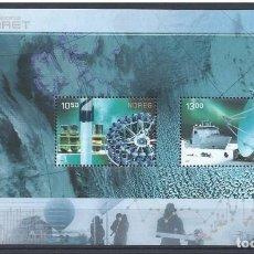 Sellos: NORUEGA 2007 - NORWAY - AÑO POLAR - YVERT Nº 1548/1549** - BLOCK 35**. Lote 198356161