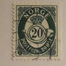 Sellos: SELLO DE NORUEGA 1962. Lote 198512188