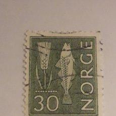 Sellos: NORUEGA SELLO 1962. Lote 198537442
