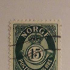 Sellos: NORUEGA 1952 SELLO. Lote 198537537