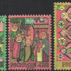 Timbres: NORUEGA, 1981 YVERT Nº 806 / 808 /**/, NAVIDAD. Lote 199186567