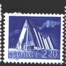 Sellos: NORUEGA, 1981 YVERT Nº 787 / 789 /**/, EDIFICIOS. Lote 199190708