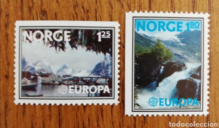 NORUEGA TEMA EUROPA CEPT AÑO 1977 MNH (FOTOGRAFÍA REAL) (Sellos - Extranjero - Europa - Noruega)