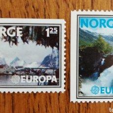 Sellos: NORUEGA TEMA EUROPA CEPT AÑO 1977 MNH (FOTOGRAFÍA REAL). Lote 199287537