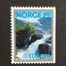 Sellos: NORUEGA, EUROPA CEPT 1977 MNH (FOTOGRAFÍA REAL). Lote 204820768