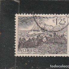 Sellos: NORUEGA 1977 - YVERT NRO. 707 - USADO. Lote 205116317