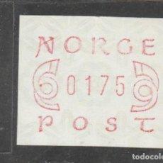 Sellos: NORUEGA 1980 - ATM 1,75KR. - NUEVO. Lote 205124023